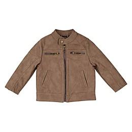 Urban Republic Faux Leather Suede Jacket in Tan