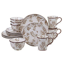 Certified International Toile Rooster Dinnerware Collection