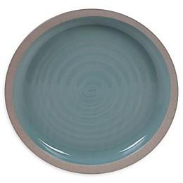 Certified International Artisan Teal Dinner Plates (Set of 4)