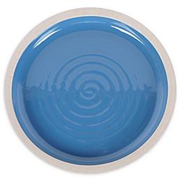 Certified International Artisan Blue Dinner Plates (Set of 4)