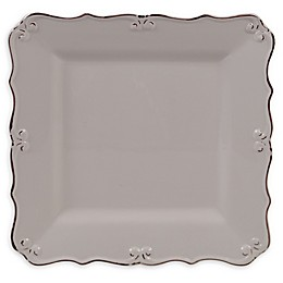 Certified International Vintage Cream Square Platter