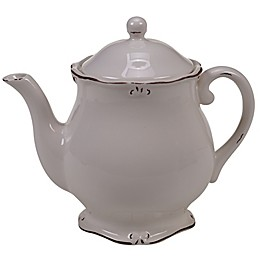 Certified International Vintage Cream Teapot