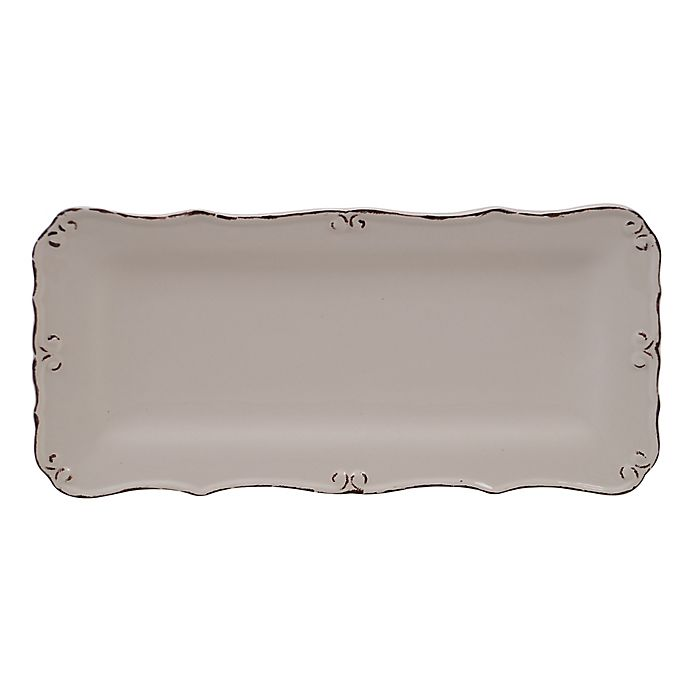 Alternate image 1 for Certified International Vintage Cream Bread Tray