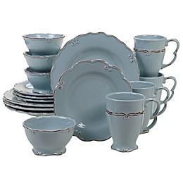 Certified International Vintage Blue 16-Piece Dinnerware Set