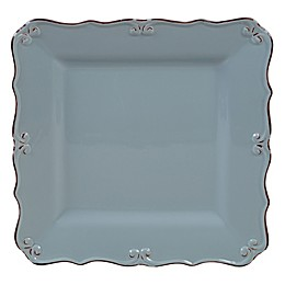 Certified International Vintage Blue Square Platter