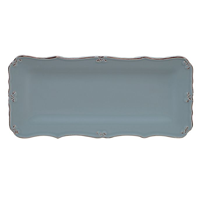 Alternate image 1 for Certified International Vintage Blue Bread Tray