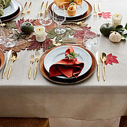 Traditional Harvest Thanksgiving Table