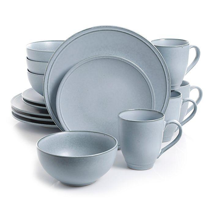 Alternate image 1 for Urban Loft® Corinne 16-Piece Dinnerware Set