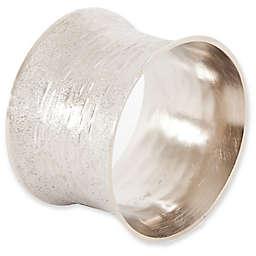 Saro Lifestyle Classic Design Napkin Rings in Silver (Set of 4)