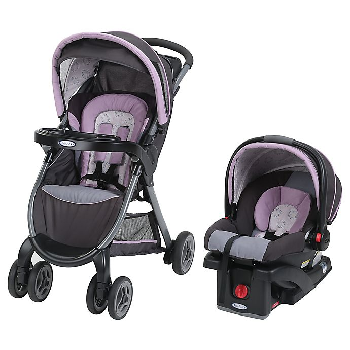 Alternate image 1 for Graco® FastAction™ Fold Click Connect™ Travel System in Janey™