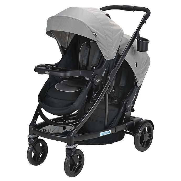 Alternate image 1 for Graco® UNO2DUO™ Double Stroller in Oakley
