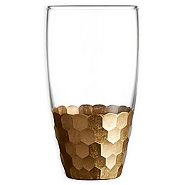 Fitz and Floyd® Daphne Highball Glasses in Gold (Set of 6)