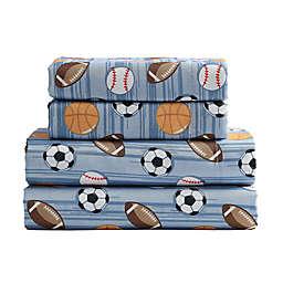 Kute Kids Athlete Stripe Sheet Set