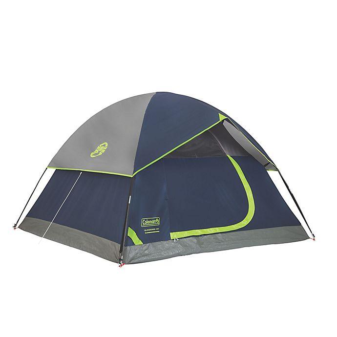 Alternate image 1 for Coleman® Sundome® 4-Person Dark Room Tent in Navy