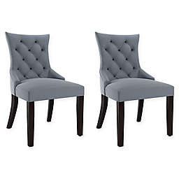 Corliving™ Polyester Upholstered Chairs (Set of 2)