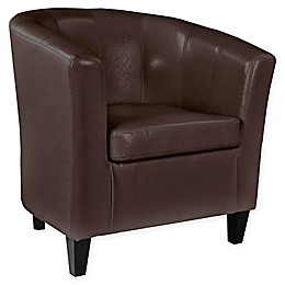 Corliving™ Leather Upholstered Chair