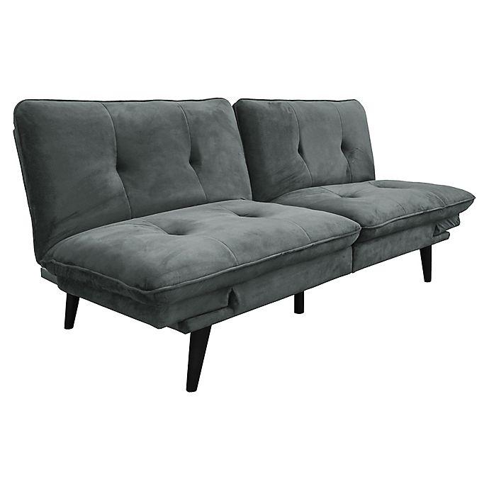 Serta 174 Microfiber Convertible Sofa Sleeper Bed Bath Amp Beyond