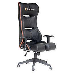 X-rocker® Polyester Swivel Pcxr3 Chair in Black