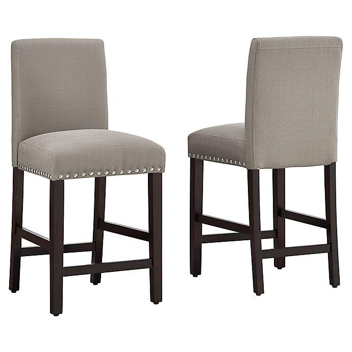 Alternate image 1 for Dwell Home® Polyester Upholstered Madrid 24.5\