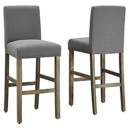 Dwell Home® Polyester Upholstered Madrid Bar Stool
