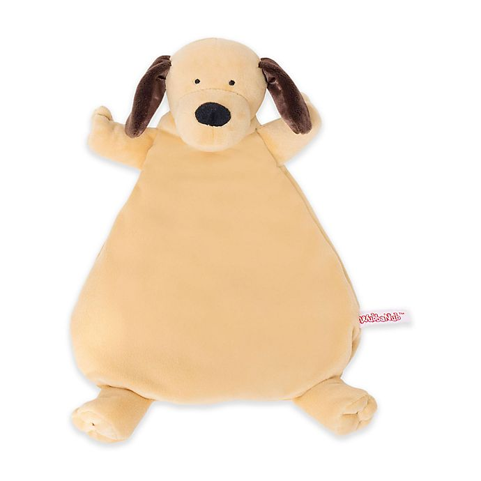 Alternate image 1 for WubbaNub™ Lovie Puppy Plush Rattle in Brown