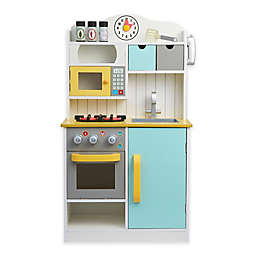Teamson Kids Florence Play Kitchen in White/Green