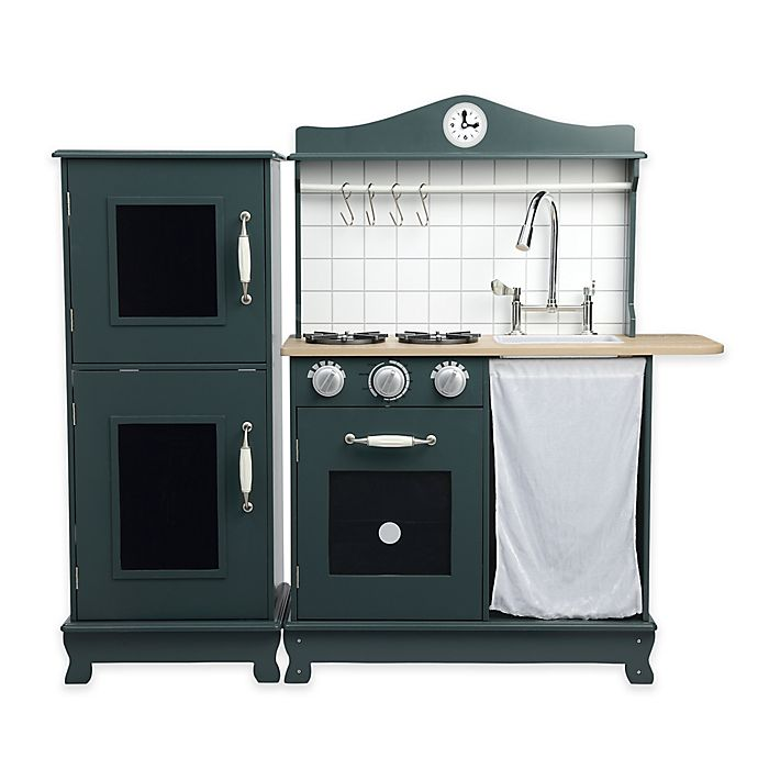 Alternate image 1 for Provence Play Kitchen in Green