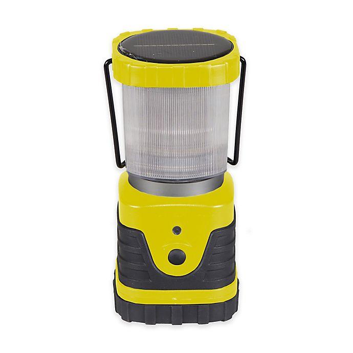 Alternate image 1 for Stansport® 300 Lumen LED Solar Lantern in Yellow