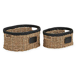 Household Essentials® Oval Baskets (Set of 2)