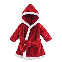 Hudson Baby® Size 0-9M Santa Bathrobe in Red