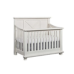 Oxford Baby Lexington 4-in-1 Convertible Crib in Heirloom White