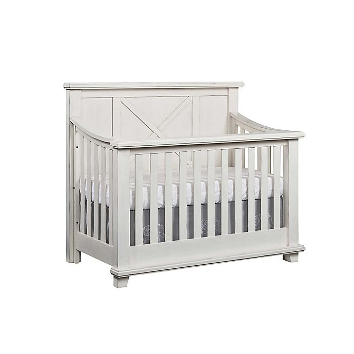 Alternate image 1 for Oxford Baby Lexington 4-in-1 Convertible Crib in Heirloom White