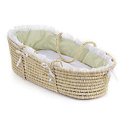 Badger Basket® Maize Moses Basket in Natural
