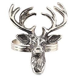 918ede8242202 Saro Lifestyle Reindeer Napkin Rings (Set of 4)