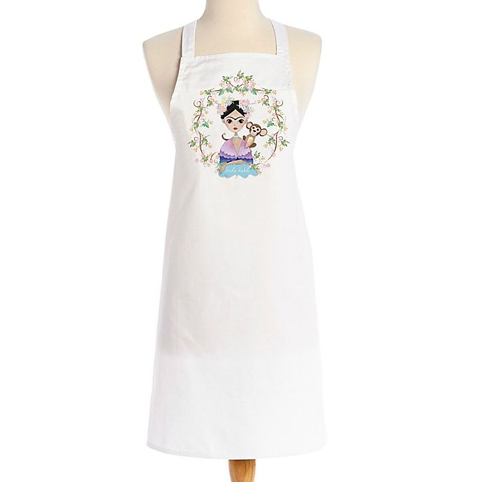 Alternate image 1 for Love You a Latte Shop Frida and Monkey Apron