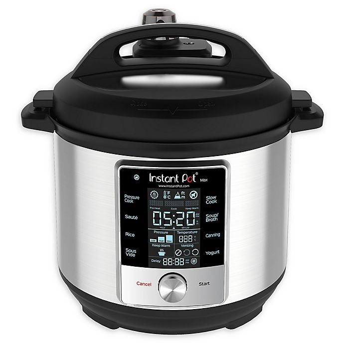 Alternate image 1 for Instant Pot® 60 Max 6 qt. Multi-Use Pressure Cooker