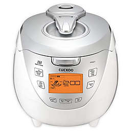 Cuckoo CRP-HR0867F 8-Cup Induction Heating Rice Cooker in White