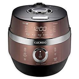 Cuckoo CRP-JHSR0609F 6-Cup Rice Cooker in Brown