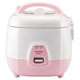 Cuckoo CR-0631 6-Cup Rice Cooker in Pink