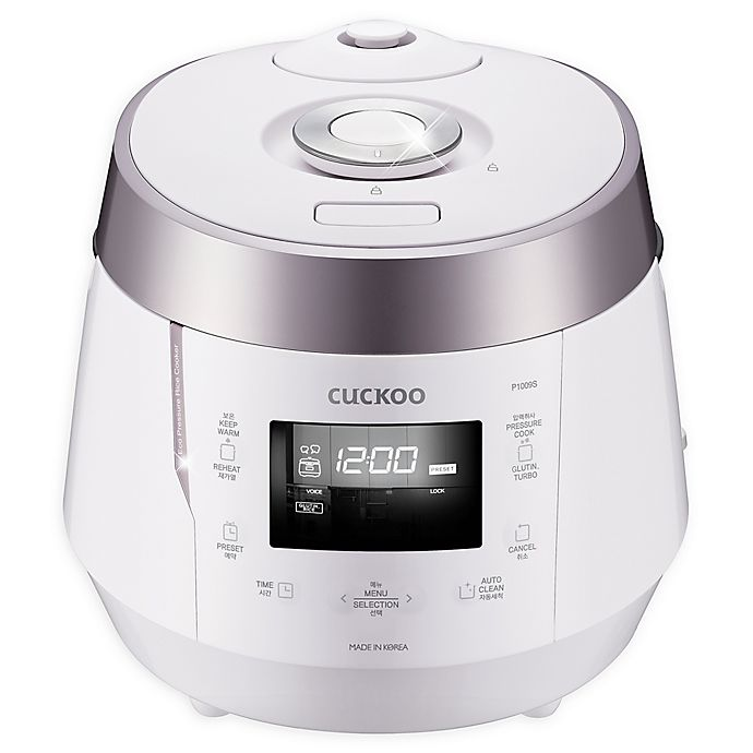 Cuckoo Electronics® High Pressure 10-Cup Rice Cooker in