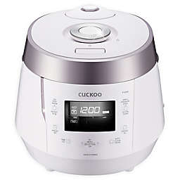 Cuckoo Electronics® High Pressure 10-Cup Rice Cooker in White