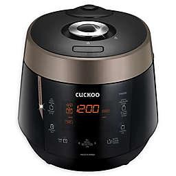 Cuckoo CRP-P0609S Electric Pressure Rice Cooker in Black