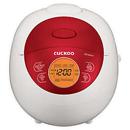 Cuckoo CR-0351FR 3-Cup Rice Cooker in Red/White