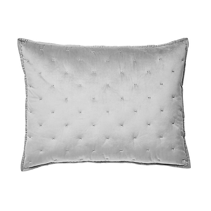 Alternate image 1 for Ted Baker London Velvet Bow Pillow Sham
