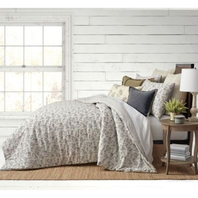 Bee Amp Willow Home Floral Clip Jacquard Bedding Collection