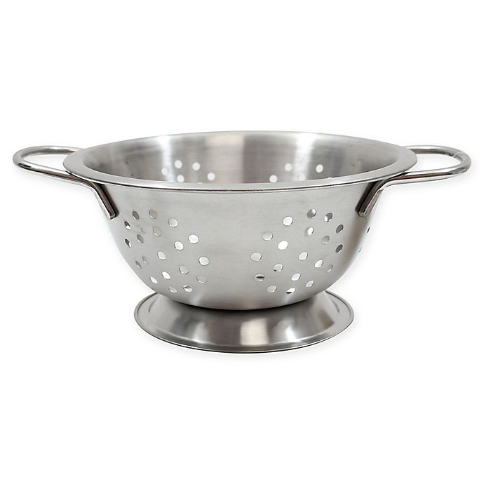 Alternate image 1 for TableCraft® Stainless Steel 25-Oz. Mini Colander