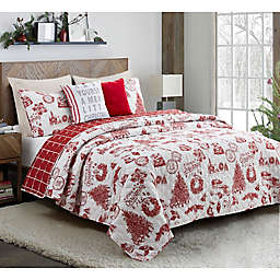 Festival Reversible 5-Piece Quilt Set