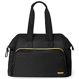 SKIP*HOP® Mainframe Wide Open Backpack Diaper Bag in Black