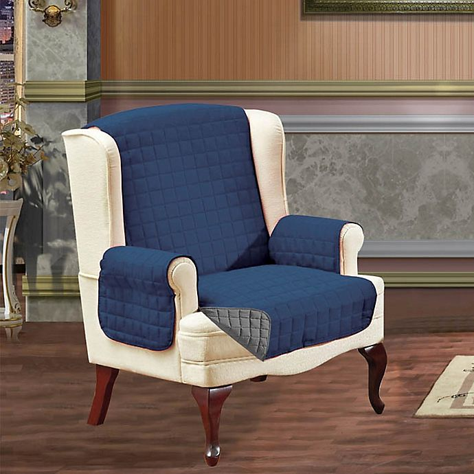 Reversible Wing Chair Furniture