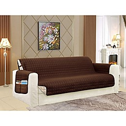 Smart Solid Microfiber Oversized Sofa Cover